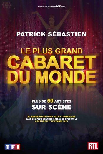 Affiche le plus grand cabaret du monde spectacle Antarès Le Mans