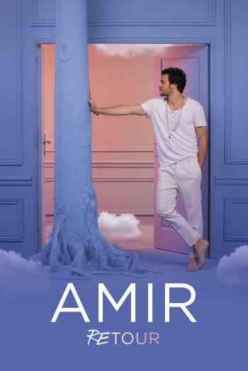 Affiche Concert Amir Retour tournée Antarès Le Mans