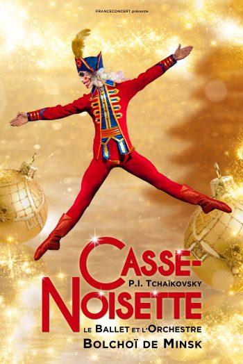 Affiche Casse-Noisette St Petersburg Ballets Russes orchestre live ballet danse Antarès Le Mans