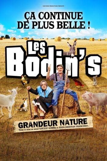 Affiche Les Bodin's spectacle humour Antarès Le Mans