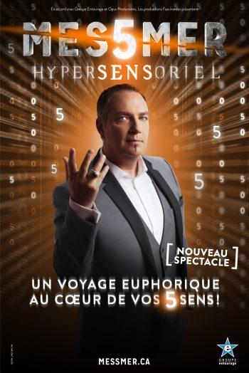 Affiche Messmer Hypersensoriel Antarès Le Mans